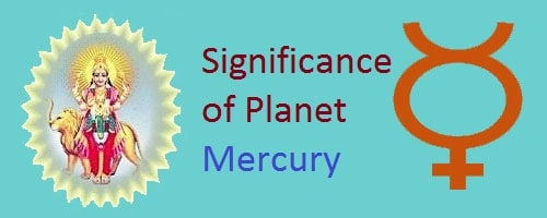 Significance of Nine planets in vedic astrology