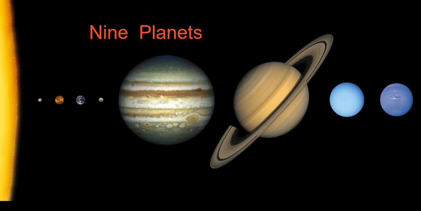 an introduction to the solar system the sun and the nine planets The solar system consists of the sun with planets in orbit around it most planets  have at least one satellite in orbit around them gravity provides the centripetal.